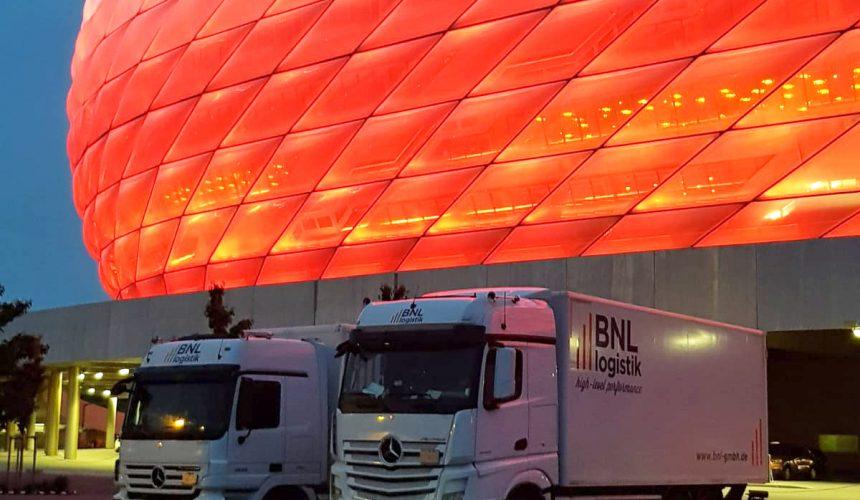 BNL in der Allianz-Arena