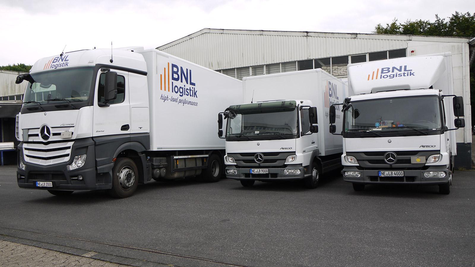logistik moderner fuhrpark